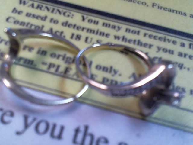 Lady's Diamond Wedding Set .10 CT. 10K Yellow Gold 4.4g