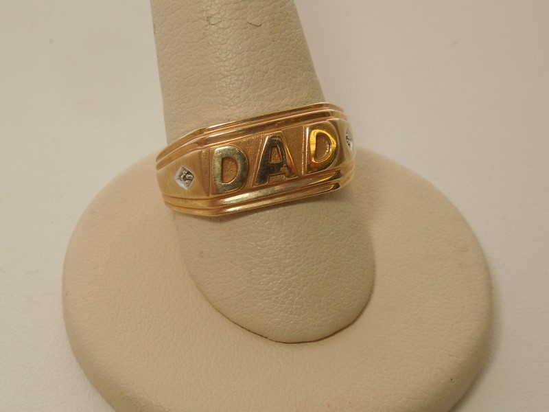 Gent's Gold Ring 10K Yellow Gold 4g