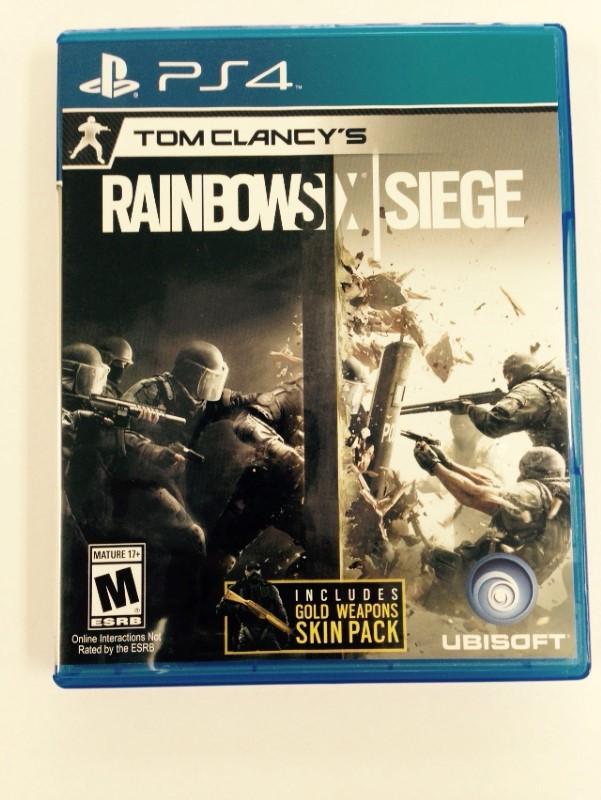 PS4-RAINBOW SIEGE