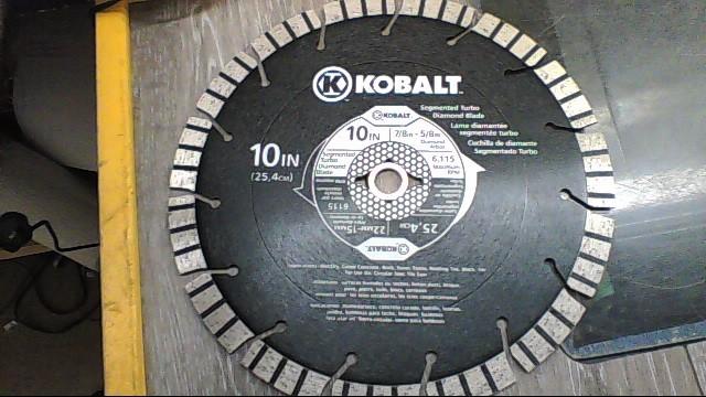 KOBALT SEGMENTED TURBO DIAMOND BLADE