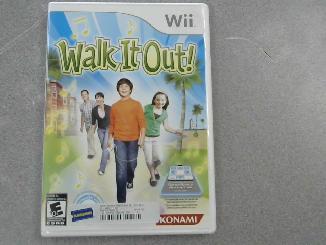 NINTENDO Nintendo Wii Game WALK IT OUT!