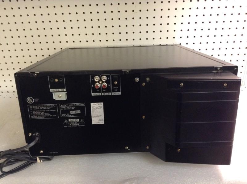 SONY CD Player & Recorder CDP-CX400
