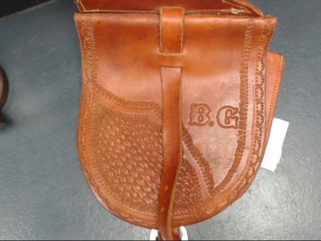 Men's Clothing SADDLE HORN BAG