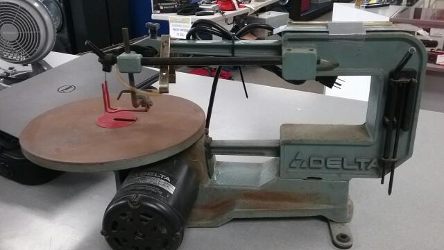 "DELTA TOOLS Scroll Saw 16"" SCROLL SAW 40-530"