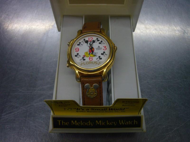 LORUS Gent's Wristwatch THE MELODY MICKEY WATCH