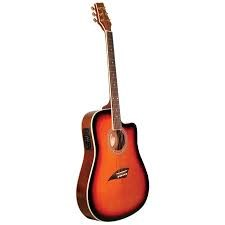 KONA GUITARS Electric-Acoustic Guitar ACOUSTIC ELECTRIC K2SB
