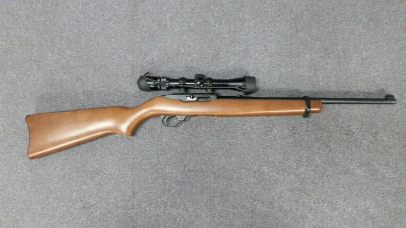 RUGER 10/22 CARBINE,WITH VISTA SCOPE 3-9X32