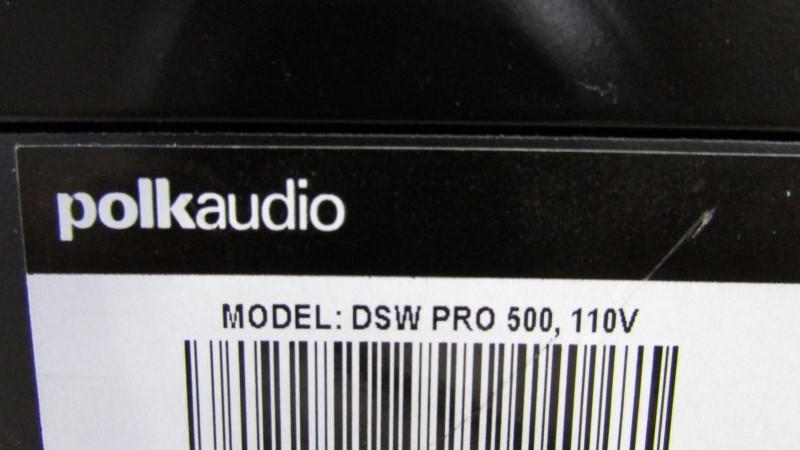 POLK AUDIO Speakers/Subwoofer DSW PRO 500