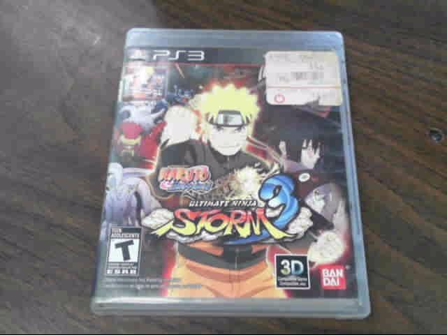 SONY Sony PlayStation 3 Game Naruto Shippuden: Ultimate Ninja Storm Revolution