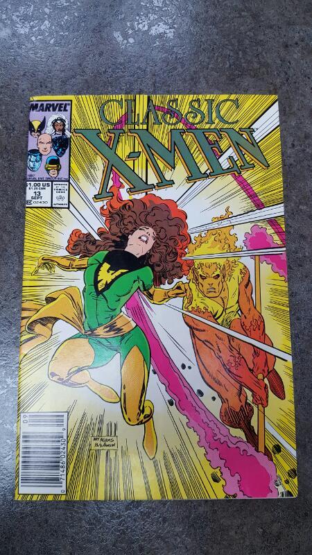 MARVEL COMICS Comic Book CLASSIC X-MEN