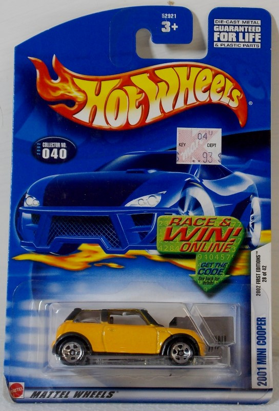 HOT WHEELS 2002 FIRST EDITIONS INCOMPLETE SET, 36 CARS