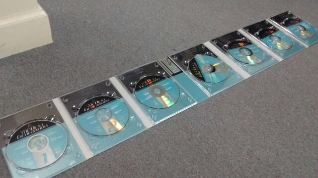 STAR TREK: THE NEXT GENERATION SEASON 5 (TGN S5), 7-DISC SET DVD