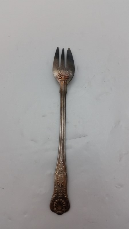 International Silver USN Naval Kings Pattern Cocktail/Seafood Fork