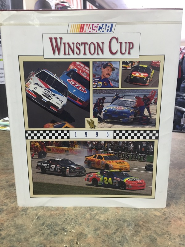 NASCAR Non-Fiction Book WINSTON CUP 1995 BOOK