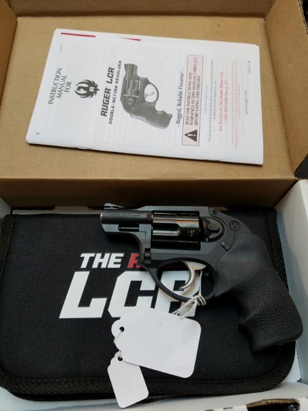 RUGER Revolver LCR