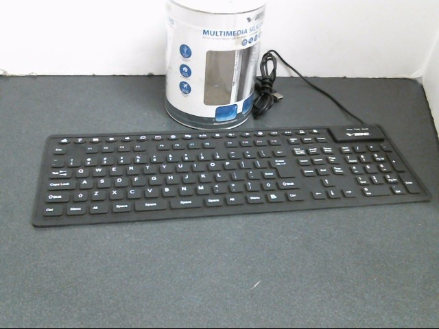 VIBE Computer Component SILICONE KEYBOARD