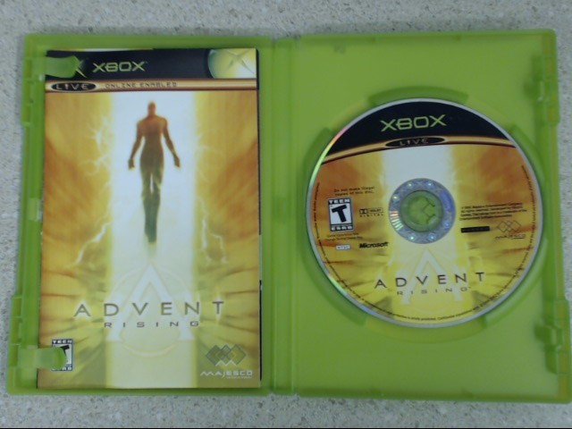 Advent Rising (Microsoft Xbox, 2005) Complete