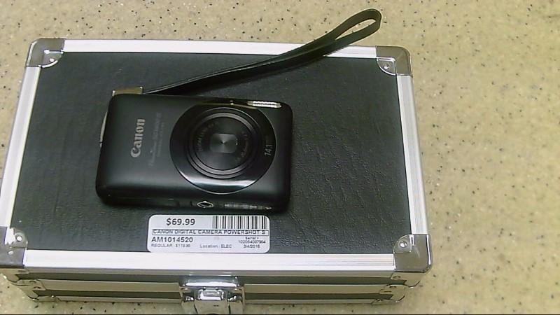 Canon PowerShot SD1400 IS 14.1 Megapixels Black Digital Camera