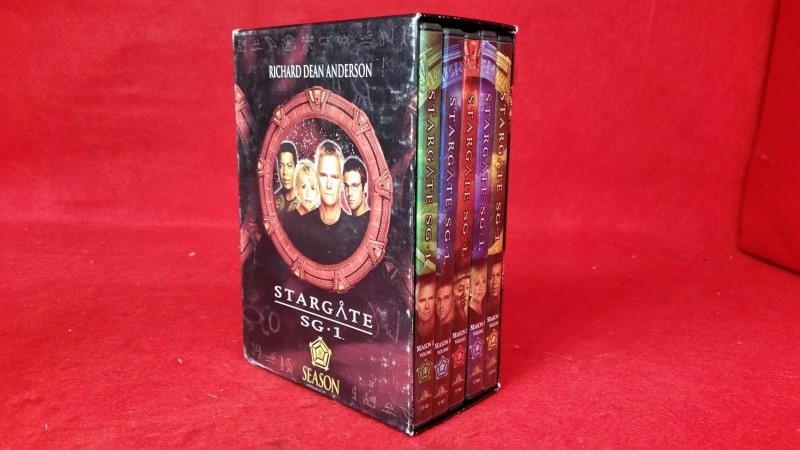 Stargate SG-1 - Season 8 (DVD, 2005, 5-Disc Set)