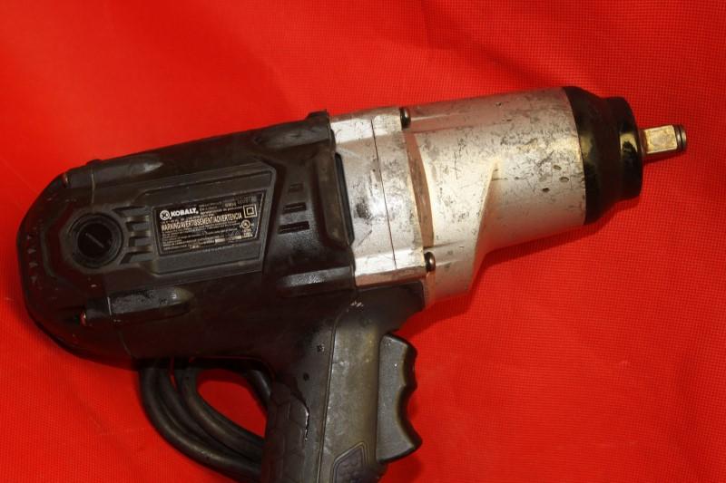 Kobalt 8-Amp 1/2-in Corded Impact Wrench (Model 6904)