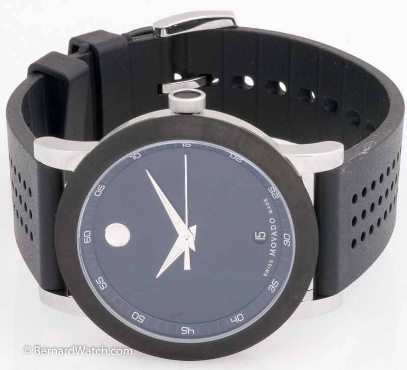 MOVADO Gent's Museum Sport with Rubber Strap