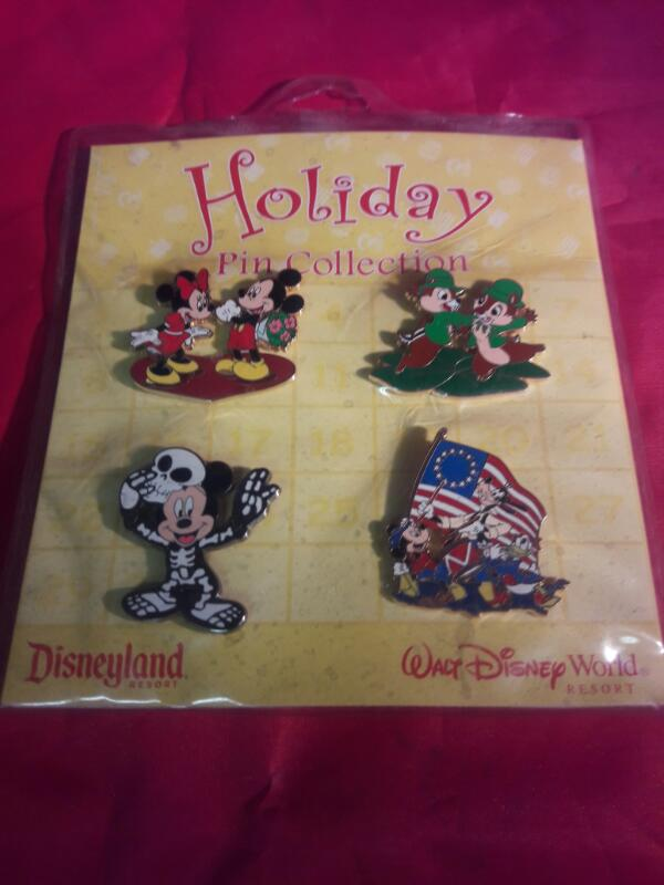 Holiday Pin Collection.