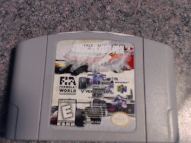 NINTENDO Nintendo 64 Game F-1 WORLD GRAND PRIX