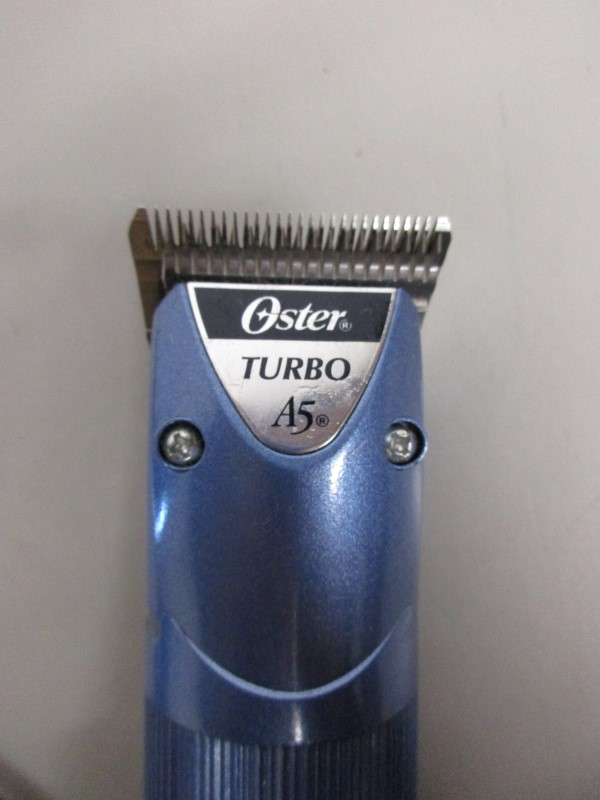 OSTER TURBO A5 PET HAIR CLIPPERS