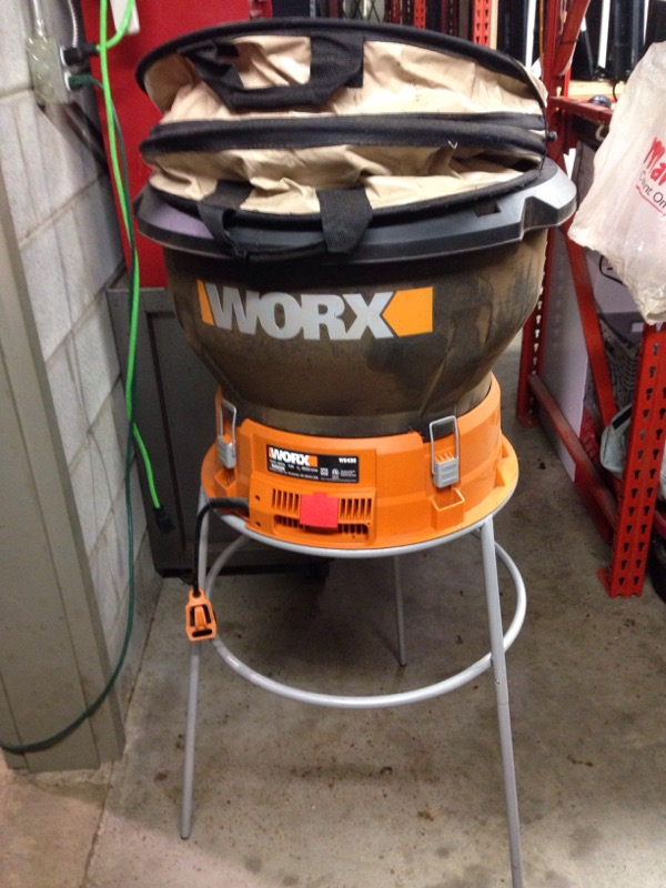 WORX LEAF SHREDDER 13A WG430