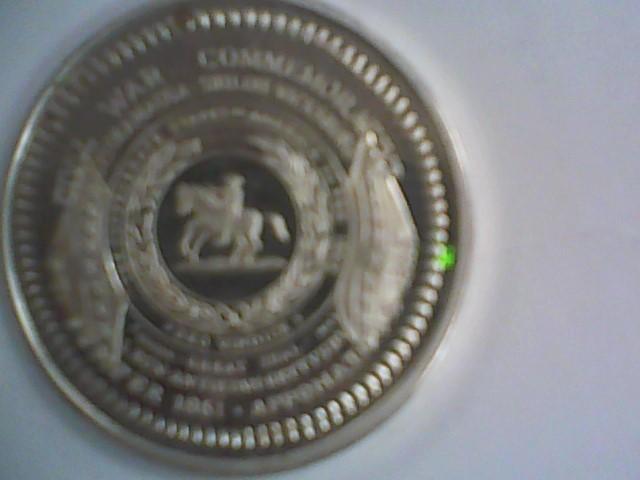 A Silver Bullion .999 SILVER BULLION plated