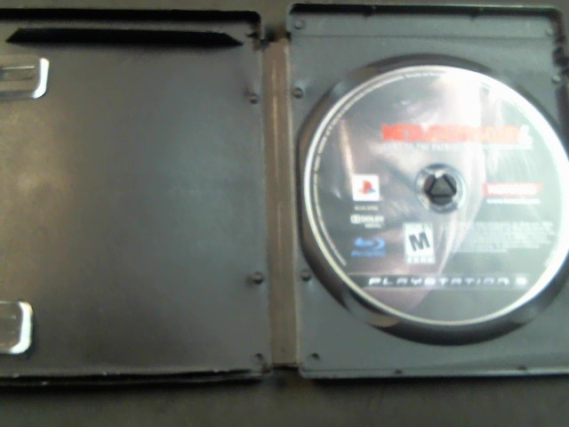 KONAMI Sony PlayStation 3 Game METALGEARSSOLID 4