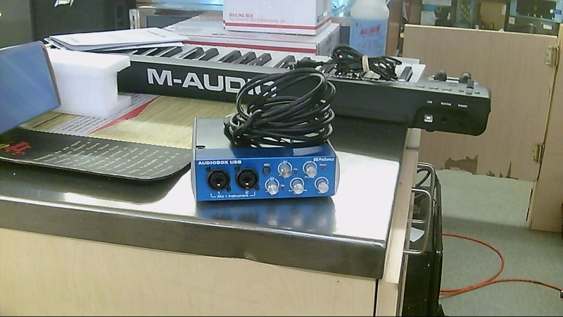 PRESONUS Mixer AUDIOBOX USB