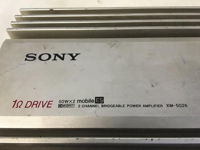 SONY Car Amplifier XM-5026