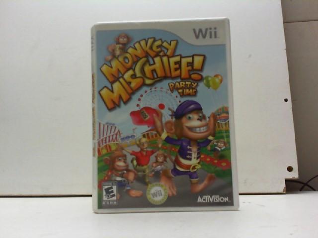 NINTENDO Nintendo Wii Game MONKEY MISCHIEF