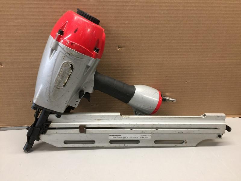 "CENTRAL PNEUMATIC 69928 3-1/4"" 28° Clipped Head Framing Nailer"