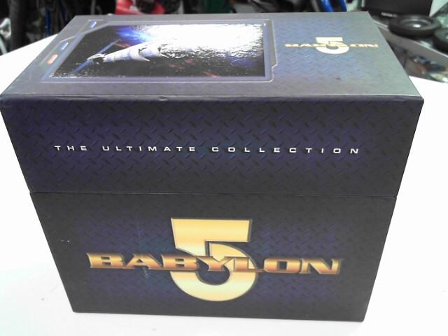 DVD MOVIE BABYLON 5 ULTIMATE COLLECTION BOXSET