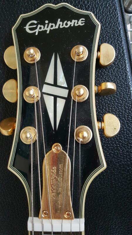 EPIPHONE Electric Guitar ZAKK WYLDE LES PAUL CUSTOM