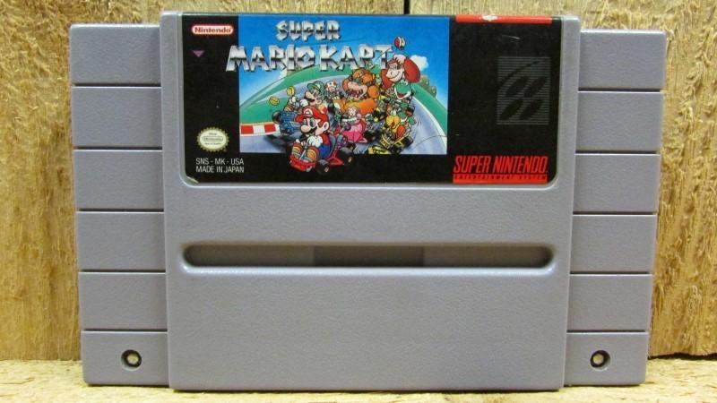 NINTENDO Nintendo SNES Game SUPER MARIO KART SNES