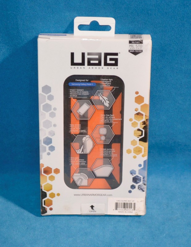 UAG Cell Phone Case UAG-GLXN5-RST-VP