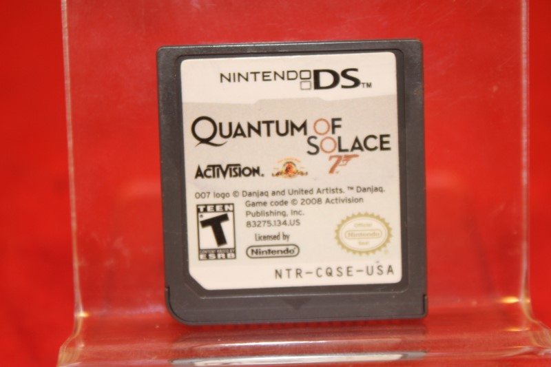 JAMES BOND 007 Quantum of Solace GAME for the NINTENDO DS+3DS**Game Only**