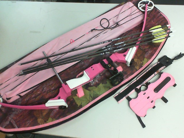GENESIS YOUTH COMPOUND BOW PINK