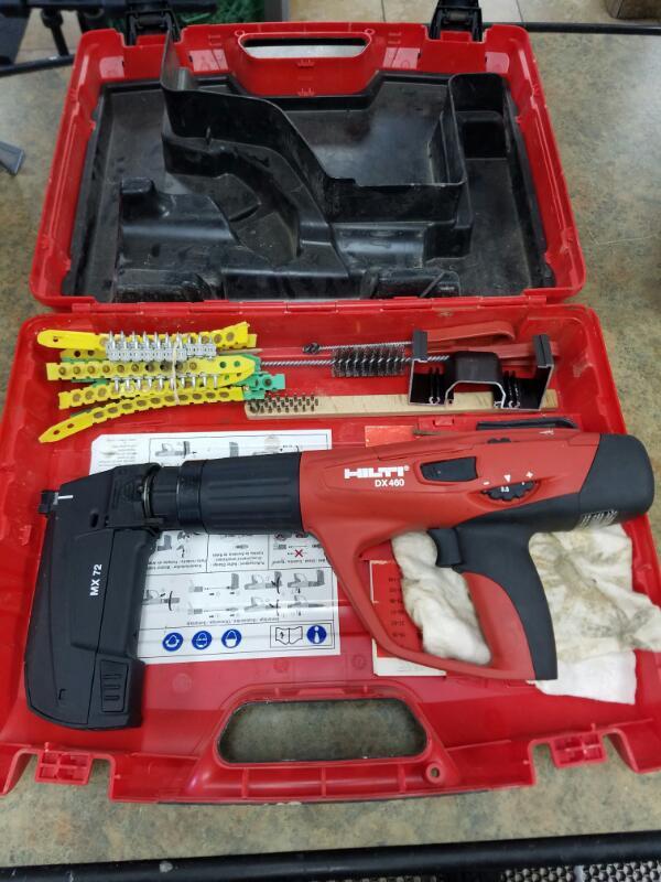 HILTI Nailer/Stapler DX 460