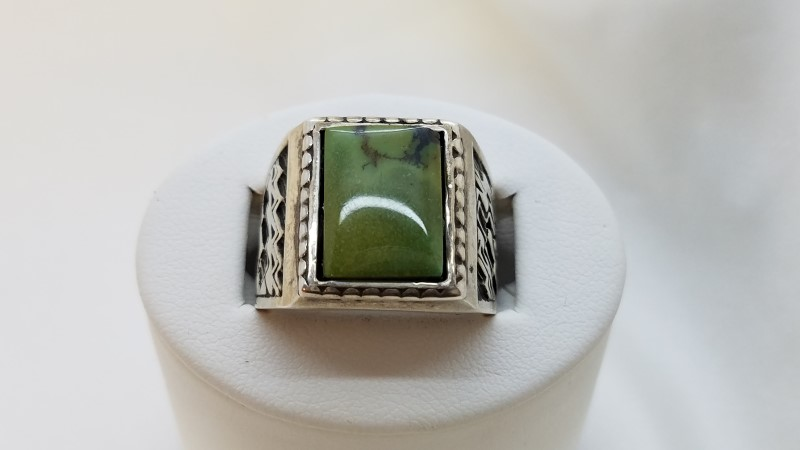 Gent's Silver Ring 925 Silver 12.6g