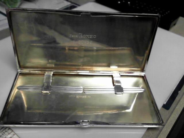Sterling Silver Vintage Cigarette Case 191.73g