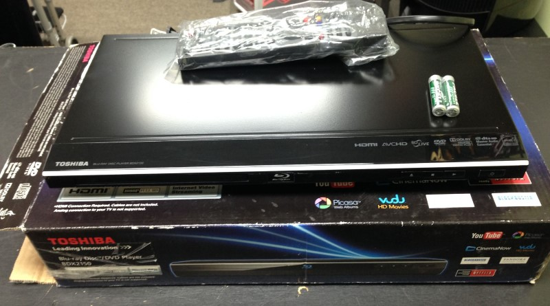 TOSHIBA DVD Player BDX2150