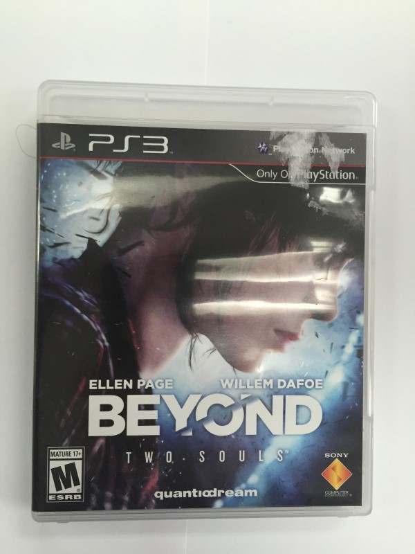 SONY PS 3-BEYOND TWO SOULS GAME