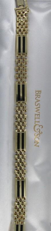 Gold Bracelet 14K Yellow Gold 20.4dwt
