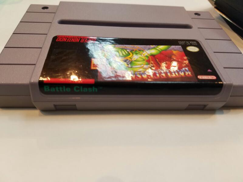Nintendo SNES Game - SUPER NINTENDO - Battleclash
