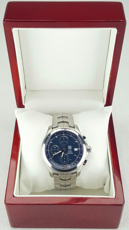 TAG HEUER LINK AUTOMATIC CHRONOGRAPH CJF2112 WRISTWATCH