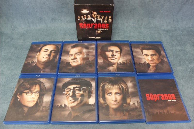 The Sopranos The Complete Series Blu-ray